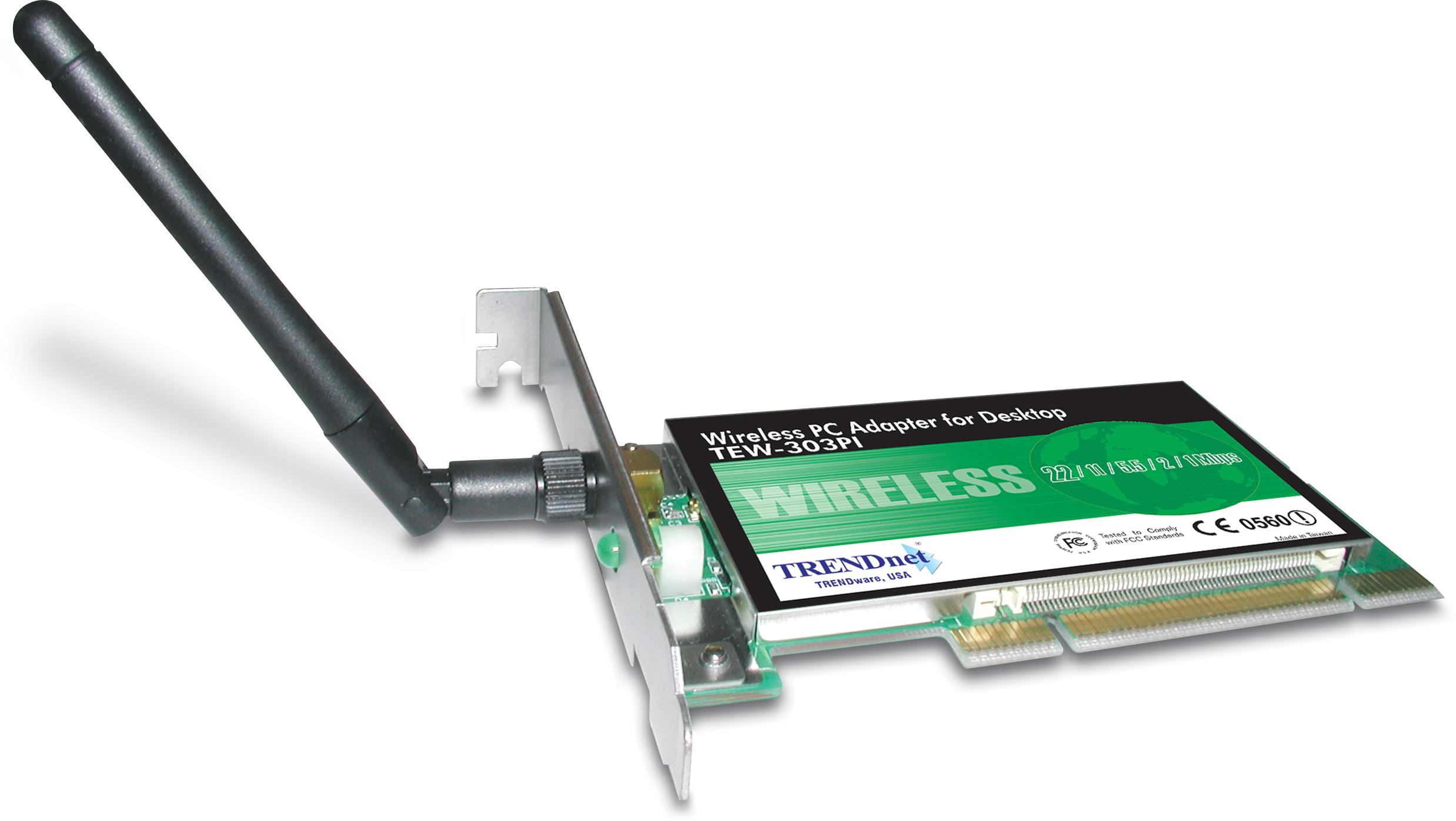 54Mbps Wireless G PCI Adapter - TRENDnet TEWPI